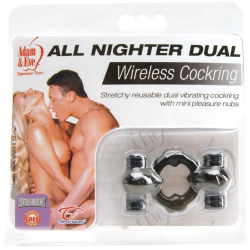 ANELLO FALLICO VIBRANTE ALL NIGHTER DUAL