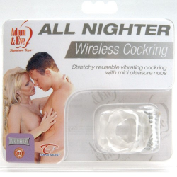 ANELLO FALLICO VIBRANTE ALL NIGHTER WIRELESS